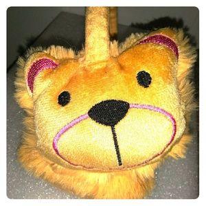 Teddy Bear Earmuffs 💜💛🐻